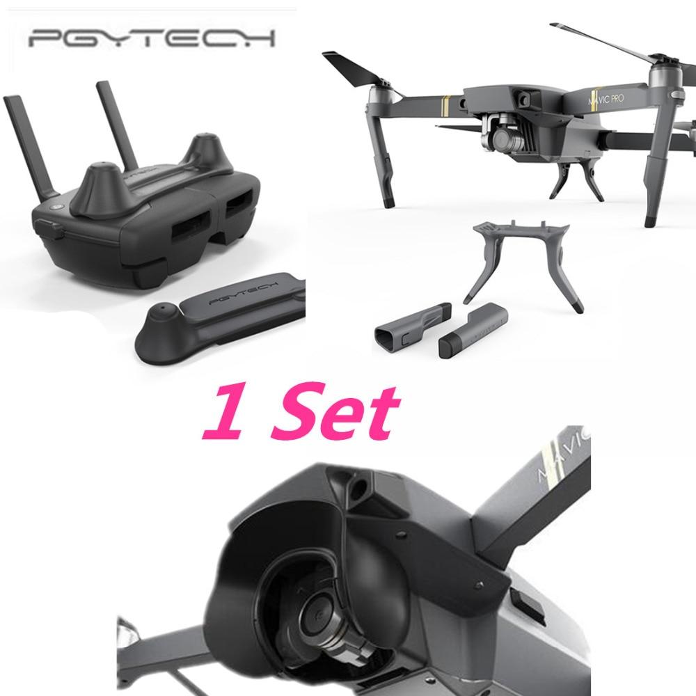 PGYTECH 1 Set Thumb Stick Guard Rocker Protector Holder Extended Landing Gear Leg amera Protector Sun