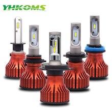 Yhkoms фар Светодиодный H4 H7 H11 Светодиодный лампы H1 H3 H8 H9 9005 HB3 9006 HB4 авто светодиодный свет 60 вт 9000lm Светодиодный лампа для авто 12 В 6000 К
