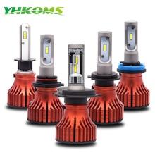 YHKOMS Headlight LED H4 H7 H11 LED Bulb H1 H3 H8 H9 9005 HB3 9006 HB4