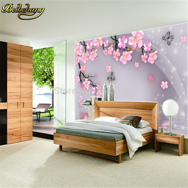 beibehang tapete gro es wohnzimmer schlafzimmer tapetenwandbilder 3d. Black Bedroom Furniture Sets. Home Design Ideas