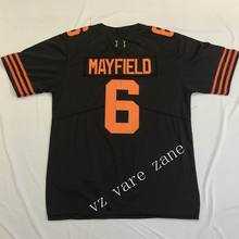 Free Shipping Top Quality Mens American Football 6 Baker Mayfield Stitched  Embroidery Number And Name Jerseys 4b8111dc1