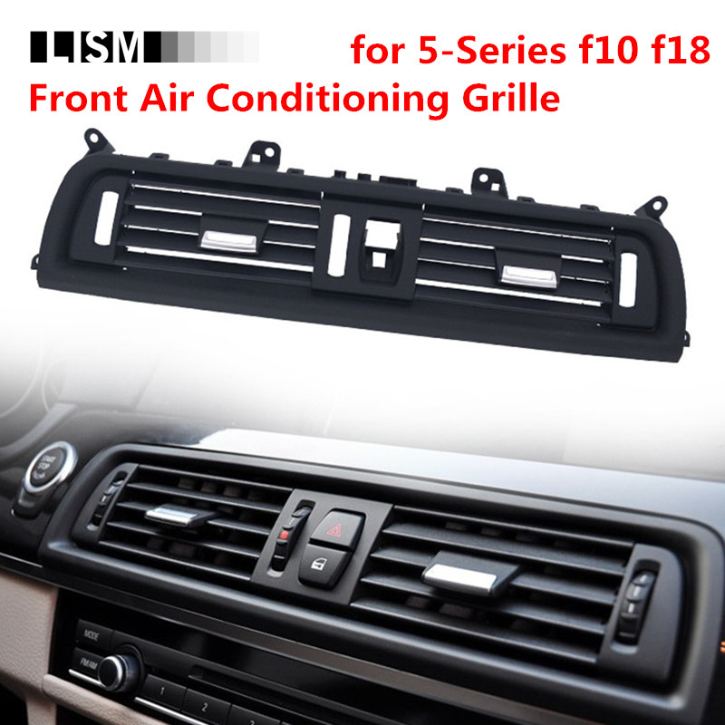 Front Middle Air Conditioning Grille for BMW 5 Series f10 f18 523 525 535 Wind Outlet Port Vent Net Adjustment Toggle Pad Knob цена в Москве и Питере