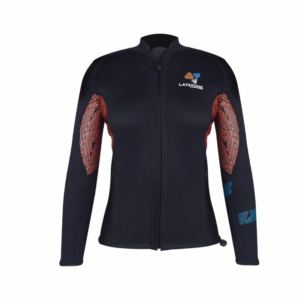 Layatone Wetsuit szett Női 3 mm-es búvárruha Nedves dzseki hosszú - Sportruházat és sportolási kiegészítők - Fénykép 2