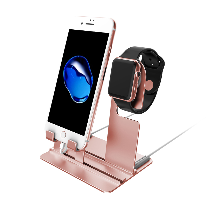 Charging Dock Station Holder Charger For apple watch Stand iwatch Series 4 3 2 1 Apple iPhone XS XR 8Plus Samsung S8 Accessories usb charger dock charging cradle for samsung gear fit2 pro sm r360 smart watch cable cord charge base station for fit 2 sm r360