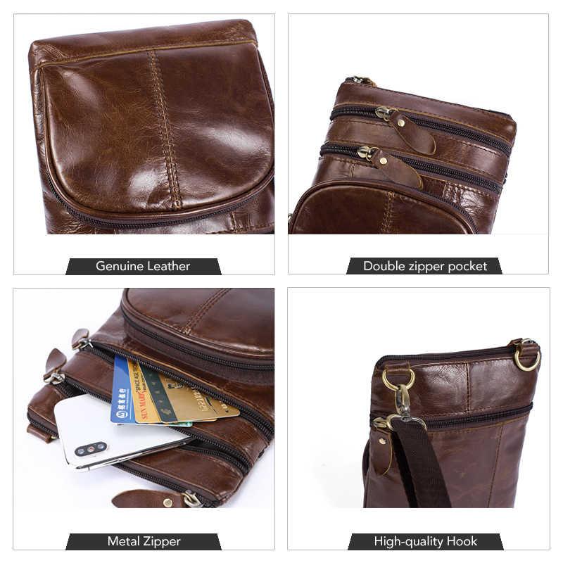 ... WESTAL Мужская сумка мужская Маленькая мужская кожаная сумка через  плечо мужская сумка из натуральной кожи для ... 252fa05d6da