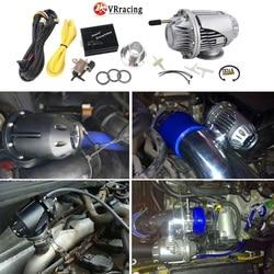 Vr-electric Diesel SSQV4 SQV4 zawór bezpieczeństwa/zawór zrzutowy oleju napędowego/Diesel BOV SQV KIT srebrny  czarny VR5730 + 5011W