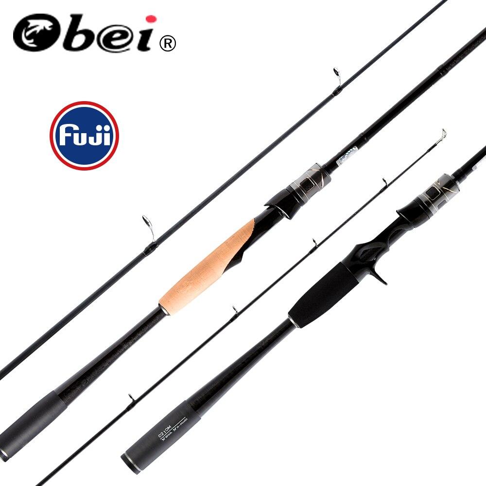 Obei mythos приманка рыбалка 1,98/2,10/2,40 м литье спиннинг с FUJI направляющие кольца рыболовные приманки море UL/m/MH/Action Travel rod