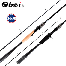 Obei mythos lure fishing 1.98/2.10/2.40m casting spinning rod  with FUJI Information Rings fishing lures sea UL/M/MH/Motion Journey Rod