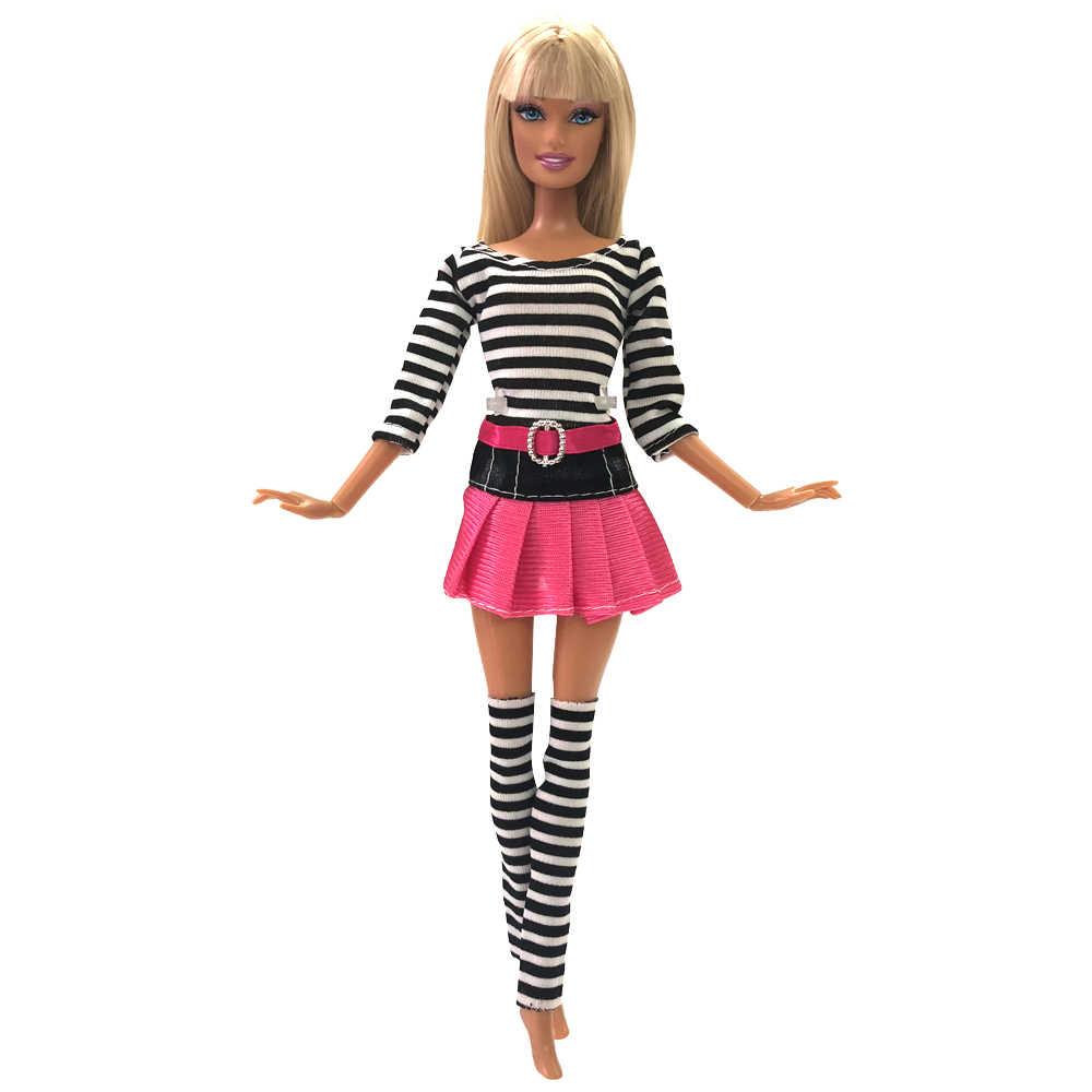 NK 2019 новейшая одежда куклы, платье модная юбка вечерние платья для куклы Барби аксессуары для девочки Лучший подарок детские игрушки JJ