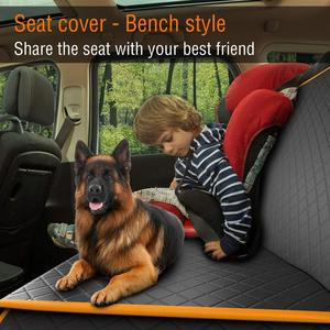 Image 3 - Pet Dog Car Seat Carrier Cover Rear Back Blanket Mat Non slip Folding Cushion Mat for Dogs Folding Blankets Pet Products