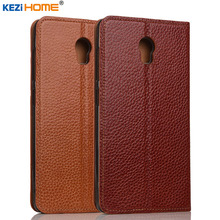 Lenovo Vibe P1 case KEZiHOME Litchi Genuine Leather Flip Stand Leather Cover capa For Lenovo Vibe P1 Phone cases coque