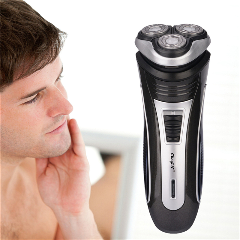 3D Triple Floating Blade Heads Rechargeable Electric Shaver Men Shaving Machine Razors Face Care Beard Trimmer Barbeador 4546