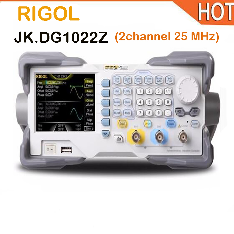 2018 hot Rigol DG1022Z 25 MHz Arbitrary Function Generator with 2 Channel