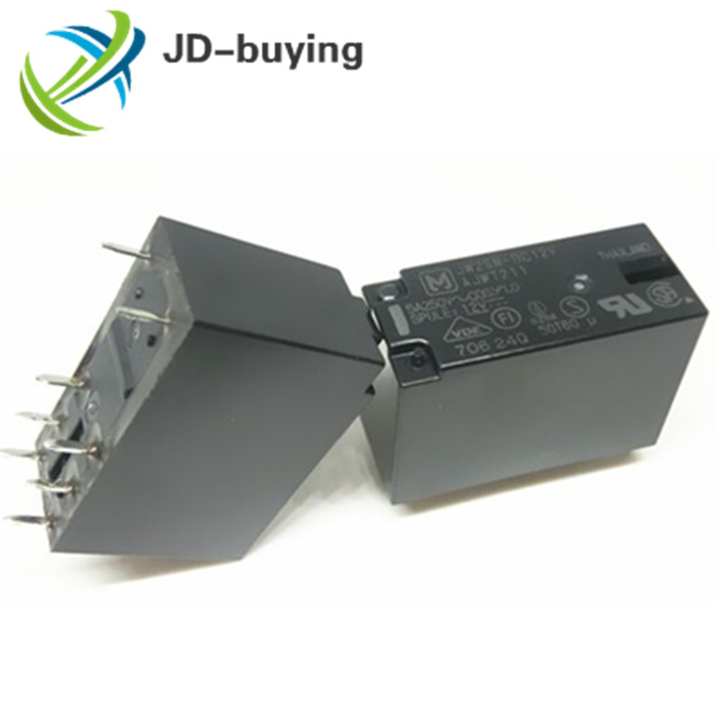 JW2SN-DC12V POWER RELAY 5A 250VAC 8 Pins x 10pcs