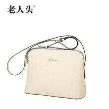 Laorentou marcas famosas de calidad superior dermis mujeres bolsa cualidades señora hombro Messenger Bag moda salvaje pequeña bolsa cuadrada
