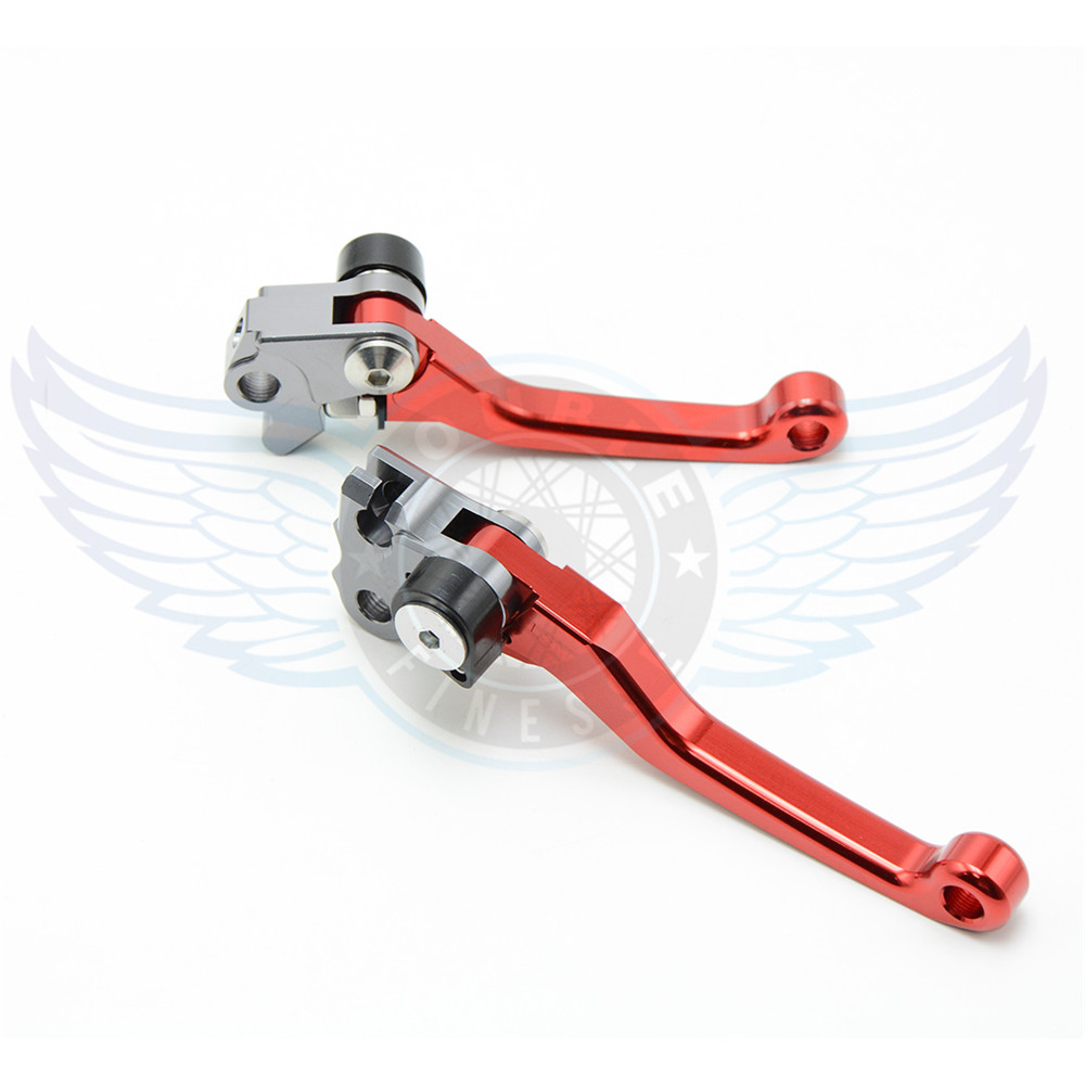 ФОТО motorcycle accessories folding Pivot Levers Brake Clutch  cnc red For Suzuki DRZ 400 S/SM  00 01 02 03 04 05 06 07 08 09 10 11