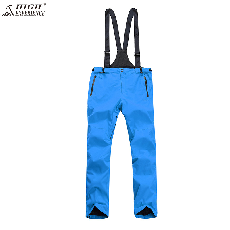 NEW High Experience Winter  Orange Ski Pant Snow Snowboard Pants Men Suspenders Overalls Ski pants free shipping-in Skiing Pants from Sports & Entertainment    1
