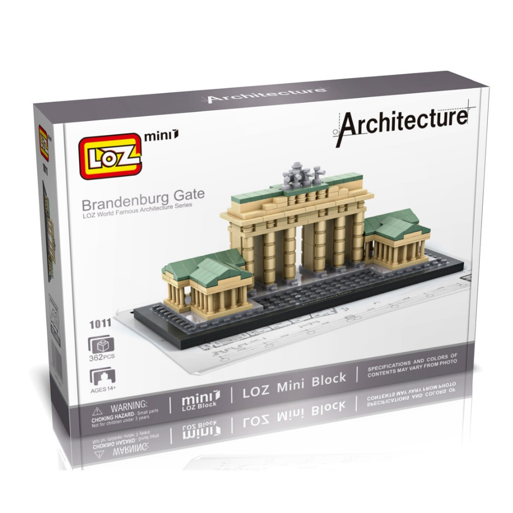 Loz Weltberuhmte Architektur Brandenburger Tor Berlin Deutschland