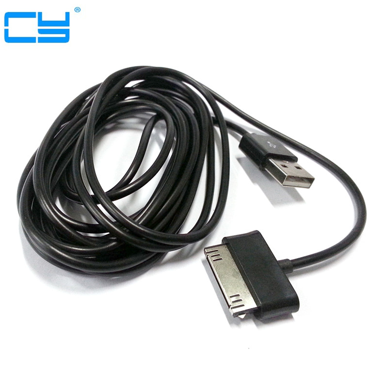 Super Long USB Data Charging Cord Charger Cable for Samsung Galaxy Tab2 P3100 P5100 Note 10.1 N8000 P7510 P1000 кабель samsung m190s p3100 p3110 p5100 p5110 p6210 p6200