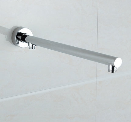 40cm refined copper Chrome Square In Wall Mounted Rain Shower Arm for Shower Head,Shower Accessories  цены