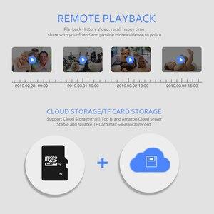Image 3 - 1080P Draadloze Ip Camera Wifi Intelligent Auto Tracking Menselijk Mini Camera Hd Home Security Netwerk Cctv Camera Babyfoon 3MP
