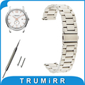 18mm 20mm 22mm faixa de relógio de aço inoxidável + ferramenta para hamilton pulseira de liberação rápida cinto alça de pulso pulseira de prata ouro negro