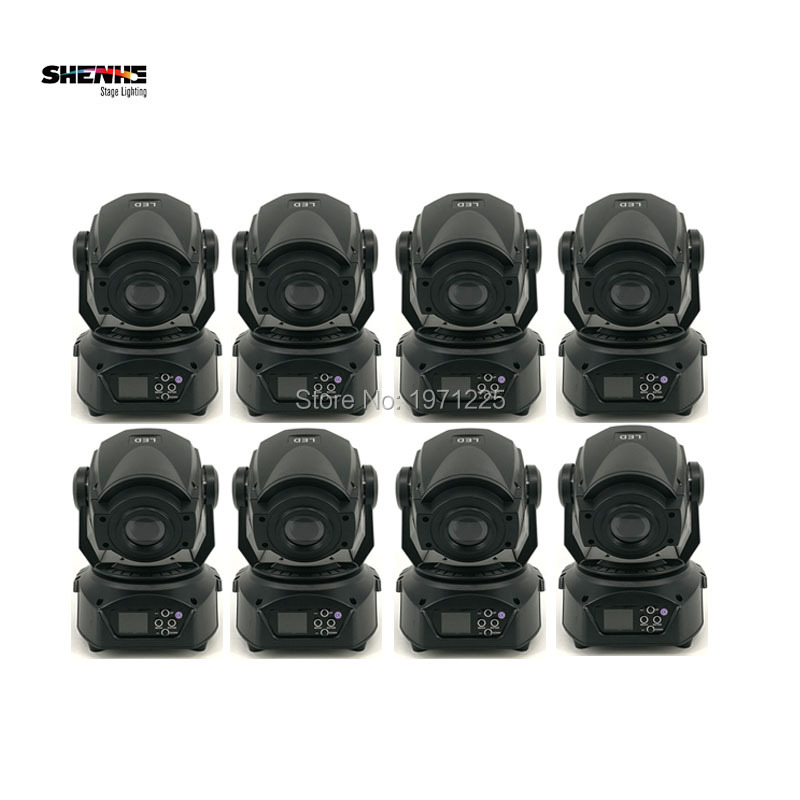 8pcs/lot Free shipping LED spot moving head Led Dj DMX 14CH Stage Lighting Effect Party Lights Moving Head 8pcs lot free shipping best lighting led moving head spot led 90w moving heads factory price