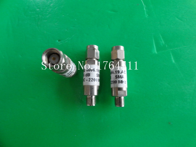 [BELLA] H+S 6606.19.AC DC-2.2GHz 6dB 2W SMA Coaxial Fixed Attenuator  --5PCS/LOT