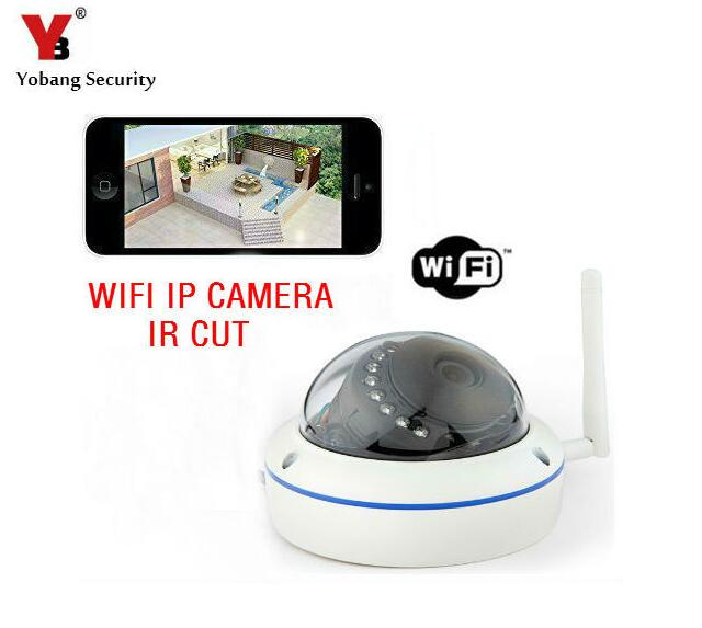 Yobang Security-Wireless Security Outdoor Waterproof IP Camera With Free Mobile APP,Motion Detection IR Cut IP/Network Camera