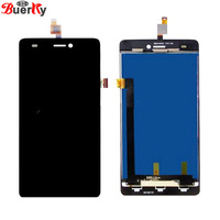 BKparts 5pcs For Wiko Highway Signs Full LCD Display Touch Screen Assembly Glass Replacement And Free