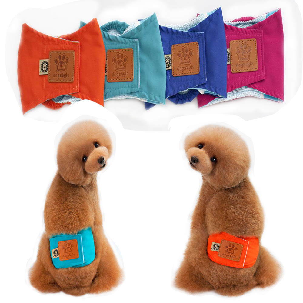 Small Dogs Costume Clothes For Little Dogs Overalls Dog Pet Physiological Pants Puppy Male Dogs Sweat Pants
