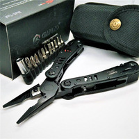 Ganzo 29 in one black G302B G302H Folding PLier tools protable outdoors survival household tool sets good quality