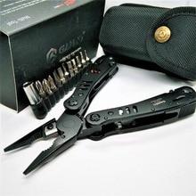 Ganzo 29 в одном черный G302B G302H складной губцевый инструмент переносной уличный для выживания бытовой наборы инструментов хорошее качество