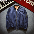 New Mens MA1 Pilot Bomber Jacket Male Thin Flying Embroidery Cool Air Force Flight Jacket Plus Size S,XXL