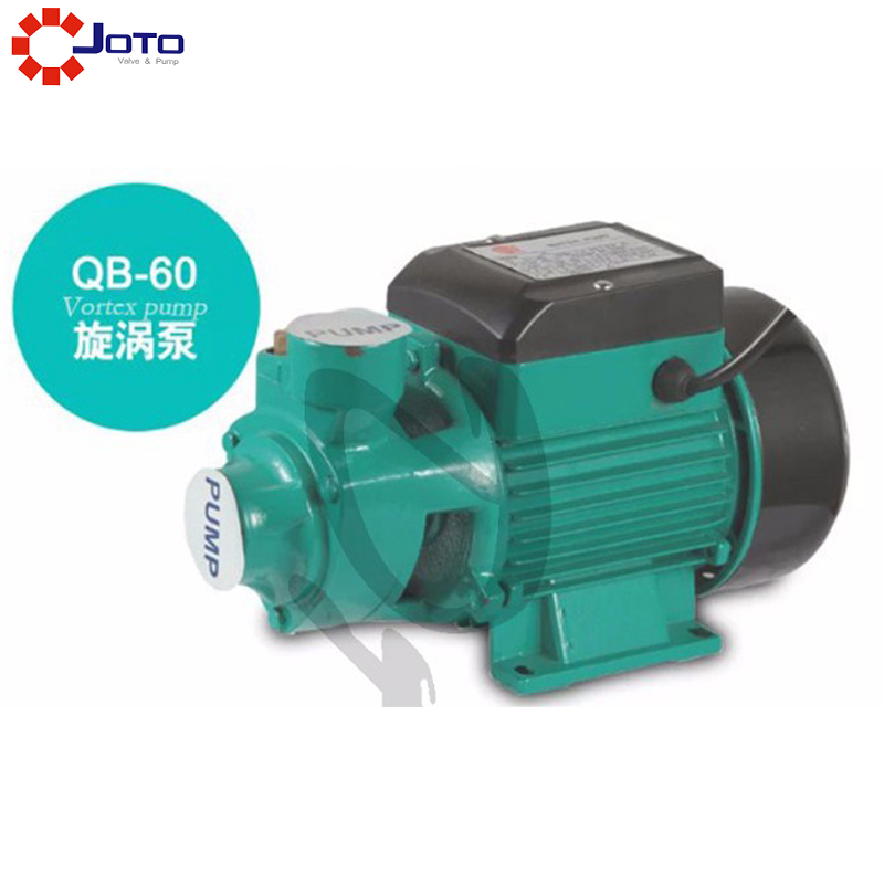 Electric Clean Water Pump Garden Farm Rain Tank Pond Irrigation QB60 3 inch gasoline water pump wp30 landscaped garden section 168f gx160 agricultural pumps
