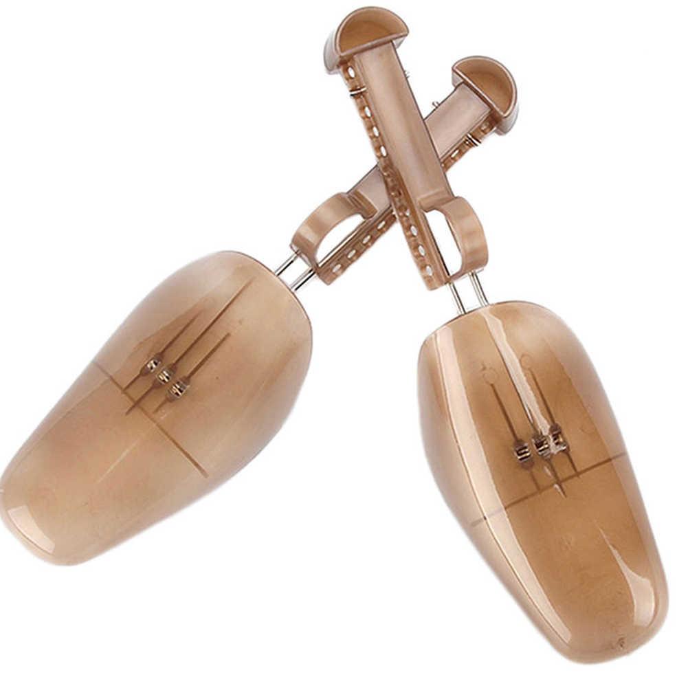 1 par estirador de zapatos ajustable diseño principal calzado hombres mujeres herramientas Unisex zapatos Accesorios
