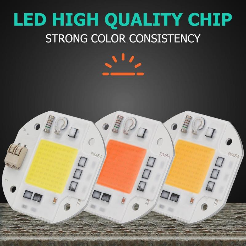 New COB LED Lamp Chip AC 220V Bulb No Need Driver Flood Light 30W 50W DIY Spotlight Floodlight Lampada