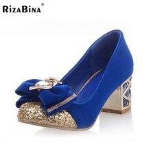 Бесплатная доставка ботинки высокой пятки женщин сексуальное платье модной обуви насосы платформы P14907 EUR размер 33-43