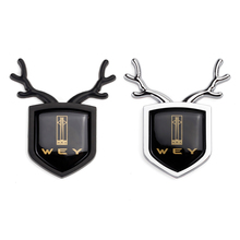 Car Accessories ABS Shield Sticker Body Badge Trunk Emblem Decal for WEY VV5 VV6 VV7 P8 VV7c VV7s W01 W02 Pi4 VV7c Pi4 VV7x ts100 e9 pi4