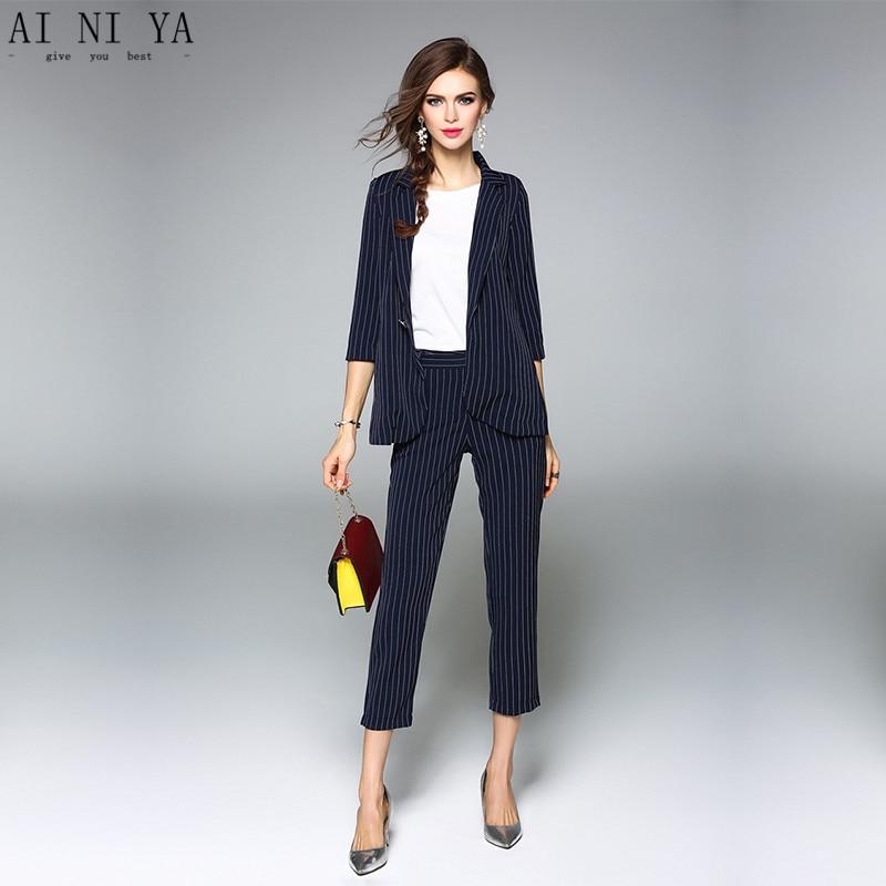Jacket+Pants Women Business Suits Formal Office Uniform