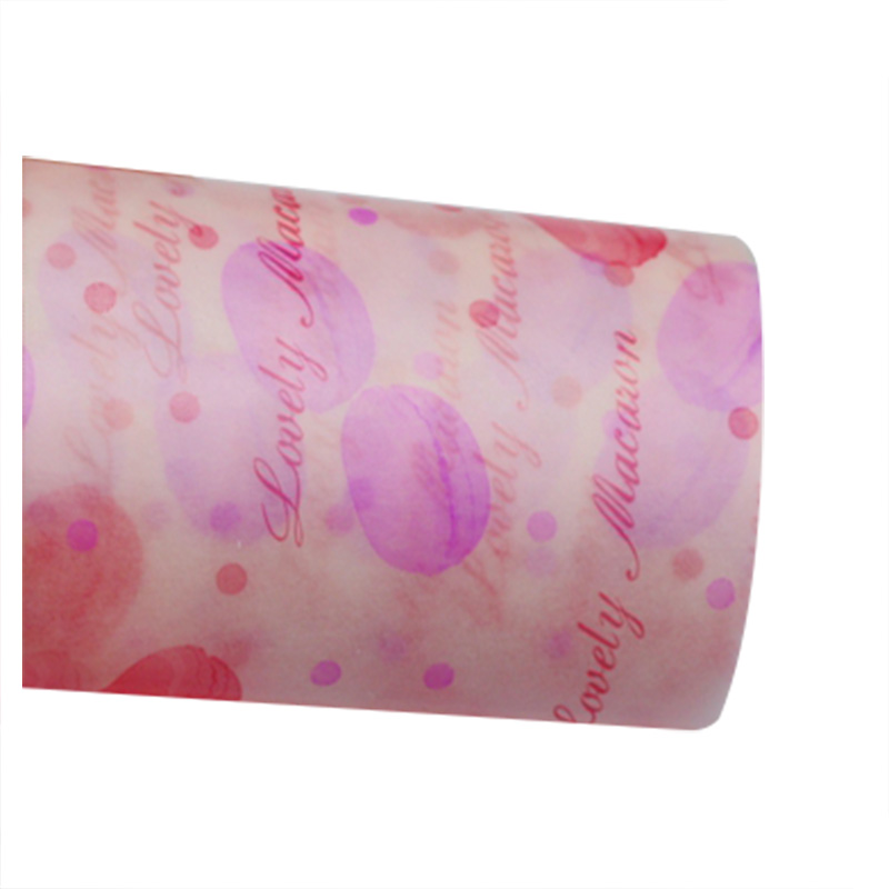 Wax Paper, Food Wrapping Paper, Greaseproof Baking Paper, Soap Packaging Paper -Macaron section