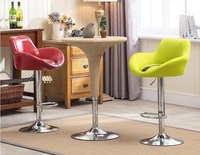 Bar Living Room Green Chair Boss Office Milk Tea House StoolFedex Express Post Office Parcel Free