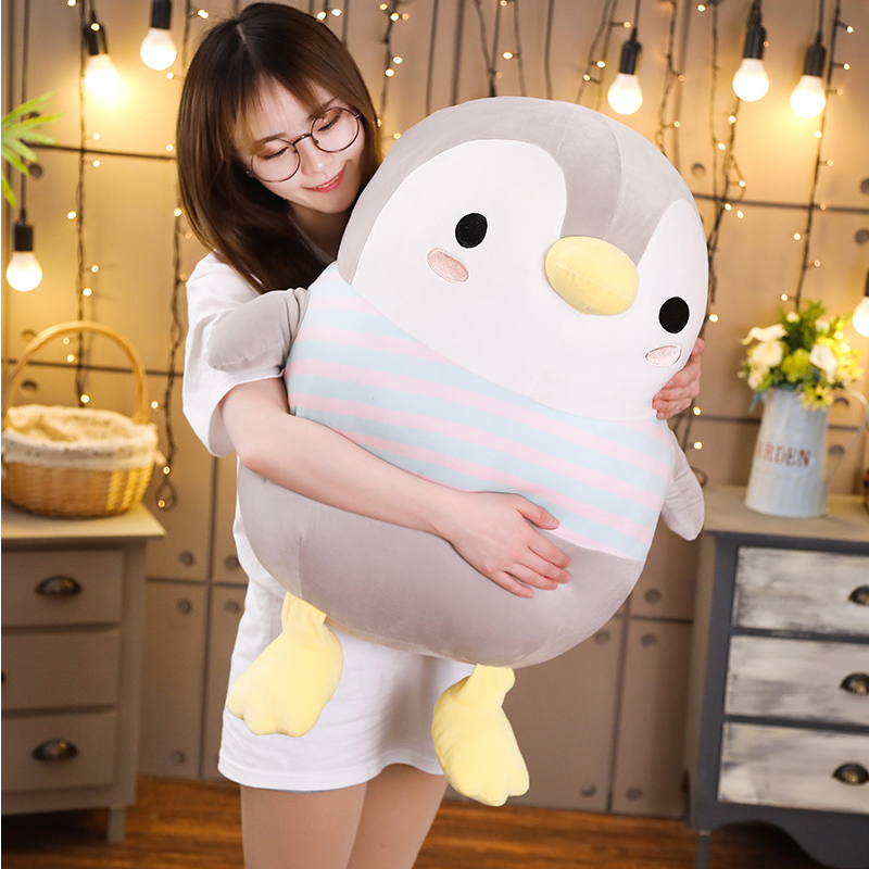 Giant Soft Fat Penguin Plush Toys Stuffed Cartoon Animal Doll Fashion Toy For Kids Baby Lovely Girls Christmas Birthday Gift
