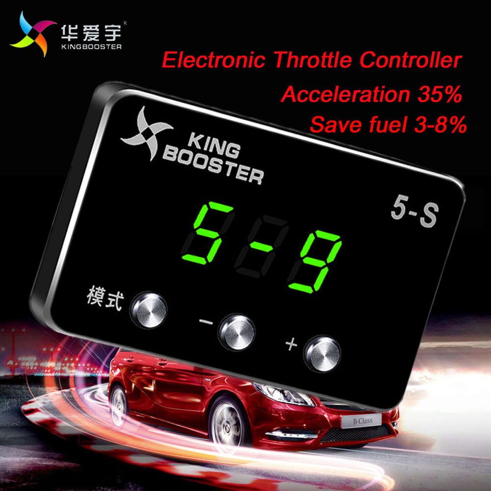 Car modification speed regulate Wind sprint Booster Electronic Throttle Controller For HONDA JAZZ ALL ENGINES 2009-2014