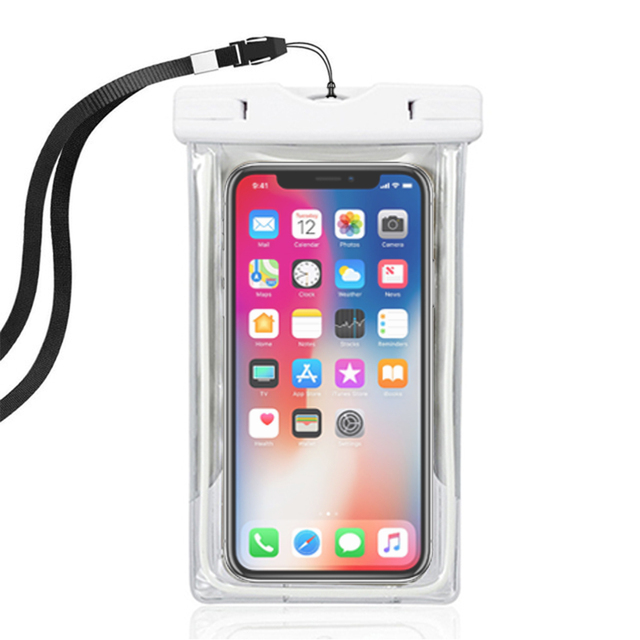 finest selection ea38a b0a99 US $3.93 21% OFF|Underwater camera phone waterproof case for iPhone 8 X XS  XR 6S 6/7/8 plus cover water proof capinha para celular prova da agua-in ...