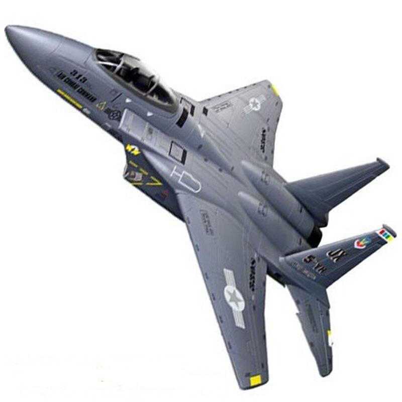 Livraison gratuite Sport loisirs 2.4Ghz F 15 aigle avion de chasse F15 obturateur RC avion RTF puissance électrique prêt à voler jouets-in Avions télécommandés from Jeux et loisirs    1