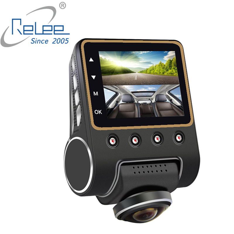 Image 5 - Relee Car DVR Panoramic view Wireless Camera 360 degree for car Dash cam 1080P Night Vision Video Recording WIFI Camera-in DVR/Dash Camera from Automobiles & Motorcycles