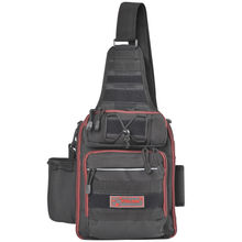 Fiblink Waterproof Sports Single Shoulder Fishing Tackle Bag Backpack or Handbag Crossbody Messenger Sling Bags