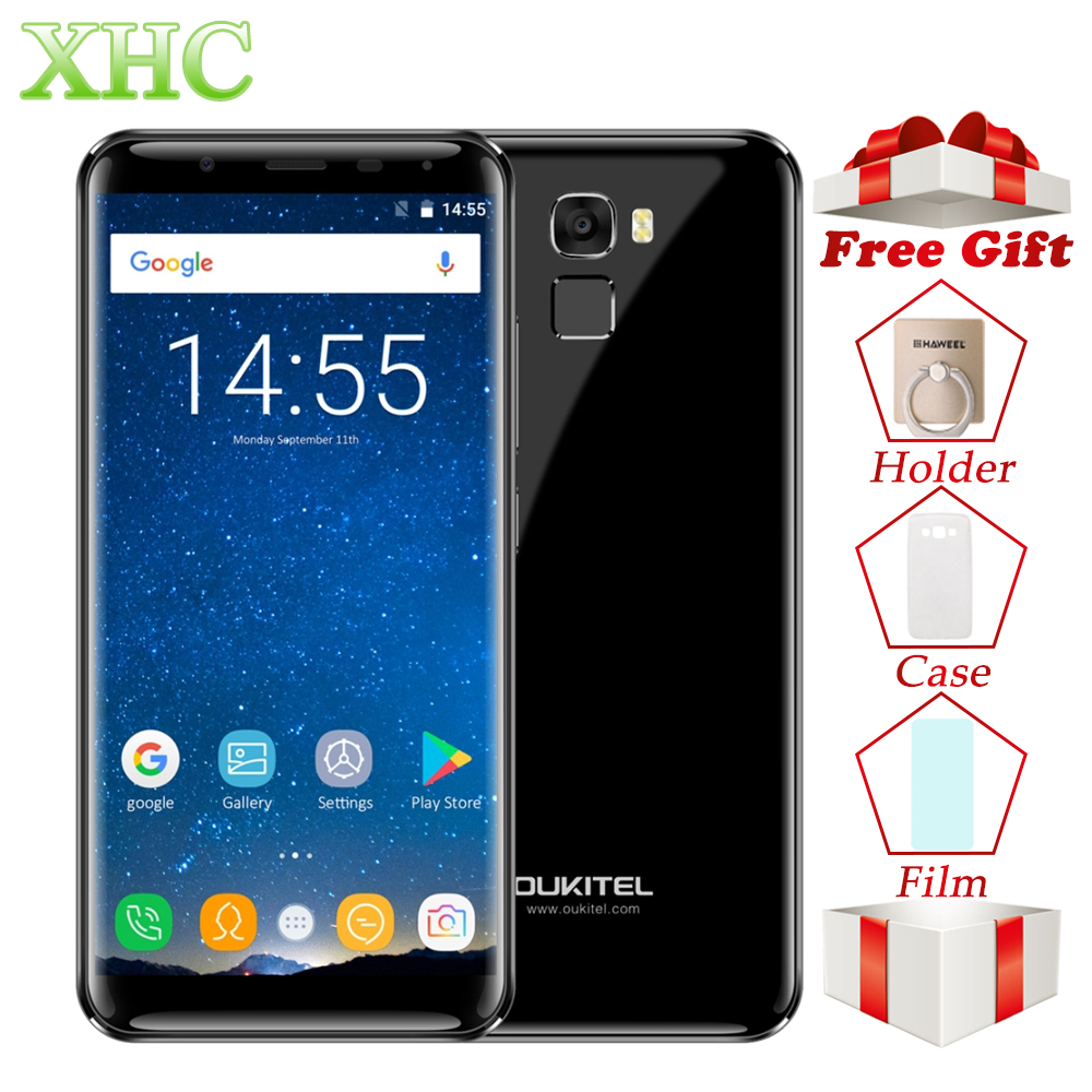 OUKITEL K5000 21MP+16MP Smartphones 5.7'' 5000mAh Android 7.0 MTK6750T Octa Core RAM 4GB ROM 64GB Dual SIM OTG 4G Mobile Phones