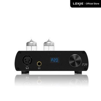 LOXJIE P20 pełnej równowagi rury słuchawki wzmacniacza mocy skorzystaj z formularza klasy wojskowej 6N3 rury potężny Hi-End regulacja głośności NJW1195